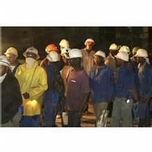 Les 3200 mineurs d'Elandsrand sains et saufs