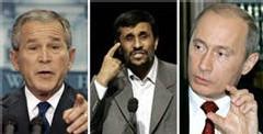 Bush-Poutine-Ahmadinejad : la guerre diplomatique