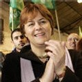 Dominique Voynet candidate à Montreuil