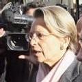 Banlieue: la ministre de l'Intérieur Michèle Alliot-Marie se rend dans le Val-d'Oise