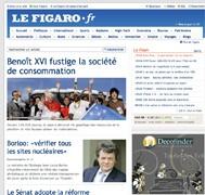 Le Figaro lance son nouveau site iPhone