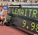 La star montante du 100 mètres Christophe Lemaitre lance le sprint pour Annecy 2018