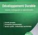 DÉVELOPPEMENT DURABLE : Aspects stratégiques et opérationnels