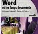Word et les longs documents