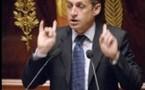 Sarkozy au front à l'Assemblée Nationale